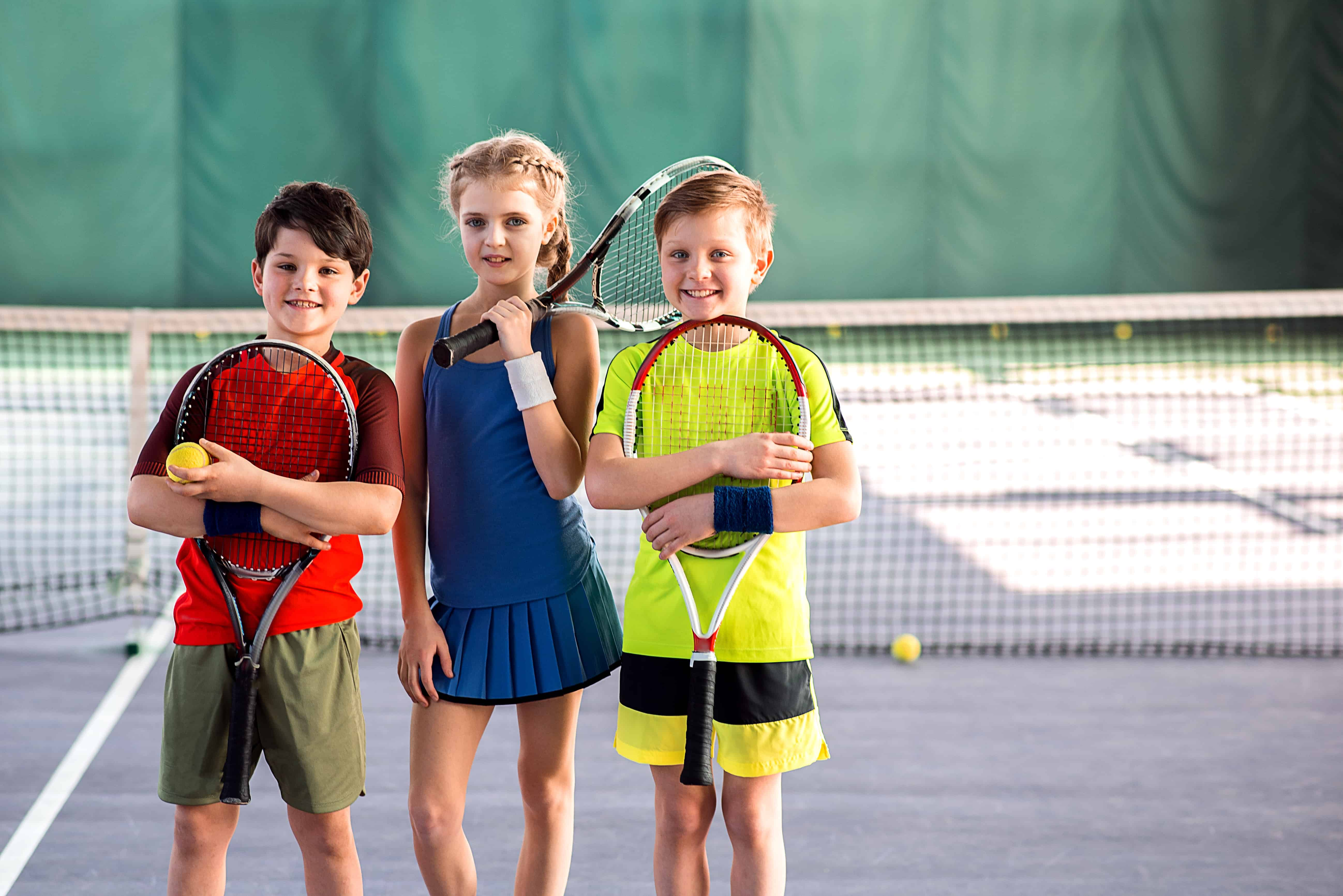 Children at Tennis Club