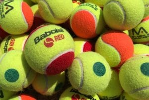 Tennis Balls lots of colours
