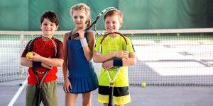 Children at Tennis Club